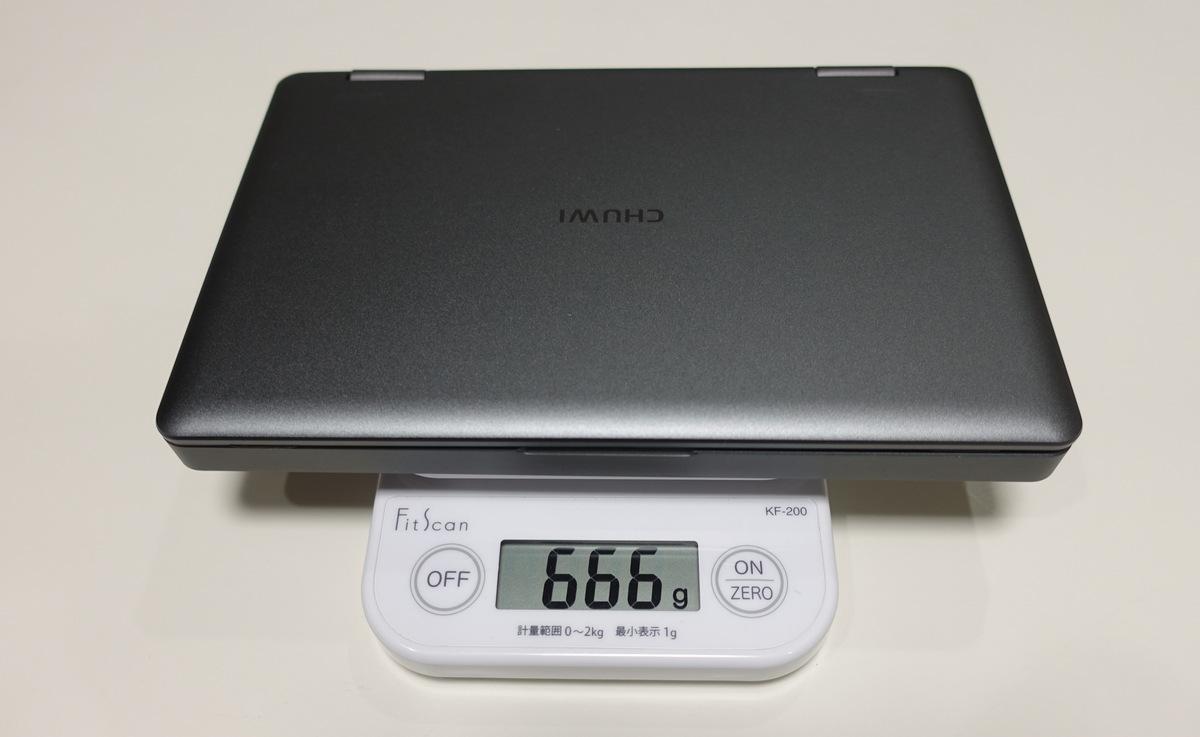 CHUWI MiniBook レビュー 日本語キーボード16GB/8100Y版