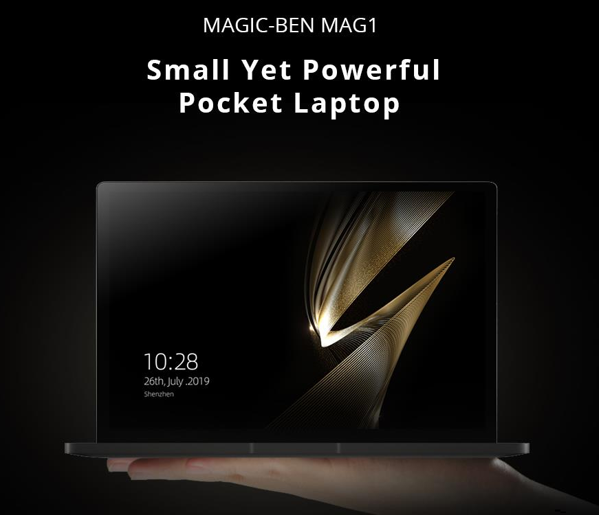 Magic-Ben MAG1 Core m3-8100y 8GB Memory 256GB SSD