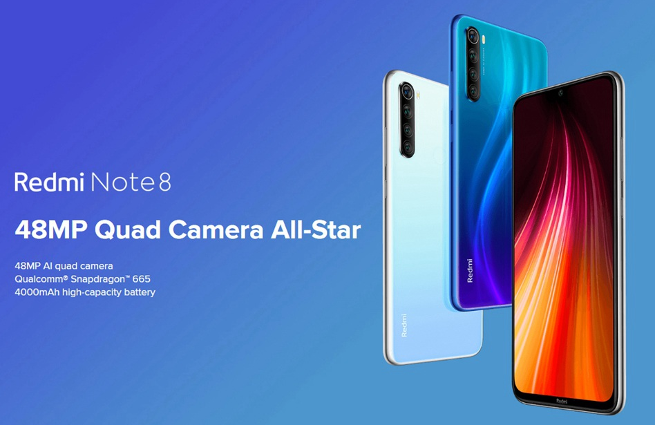 Xiaomi Redmi Note 8 4GB 64GB Global Version