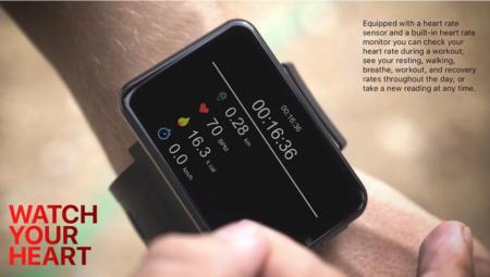 【クーポンで$125.99】『LEMFO LEMT』LTE対応2.86インチの大画面を搭載したスマートウォッチフォン