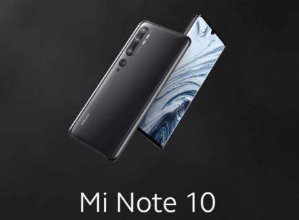 【セール価格$499.99&送料無料】Xiaomi mi note 10のスペックレビューと割引クーポンまとめ