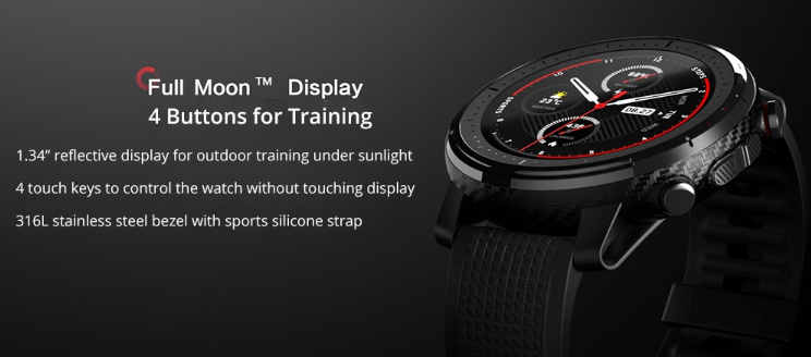 Amazfit Stratos 3 Smart GPS Sports Watch 外観写真