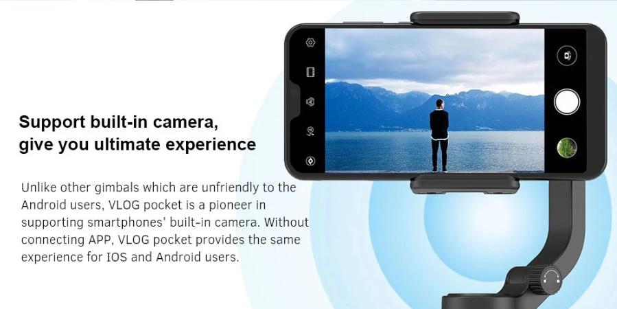 FeiyuTech VLOG Pocket スマホ用ジンバル