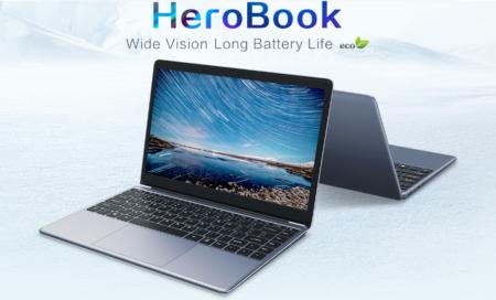 【クーポンで$174.99】14.1インチラップトップ Chuwi HeroBook のスペックレビュー