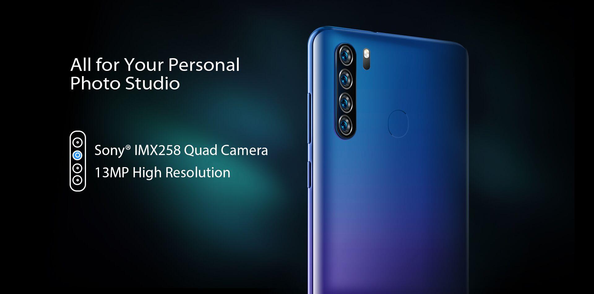 Blackview A80 Proのカラー展開の参考画像