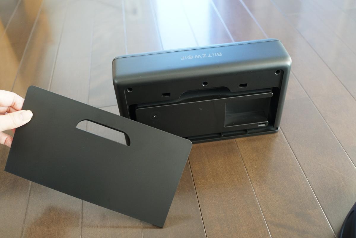 BlitzWolf® BW-VC1 レビュー 充電ドックの説明参考画像