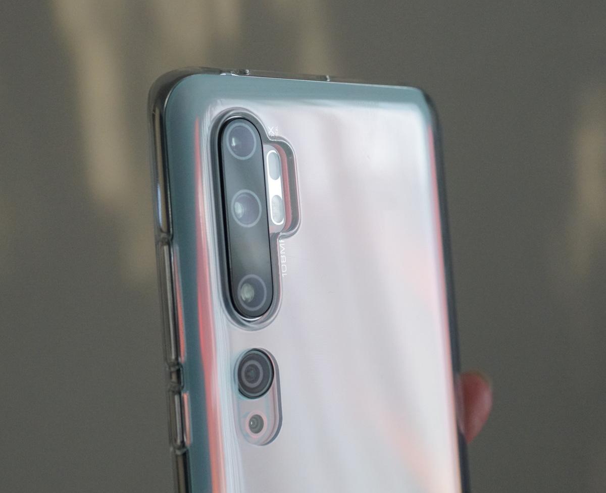 Xiaomi mi note 10 レビュー 外観の参考写真