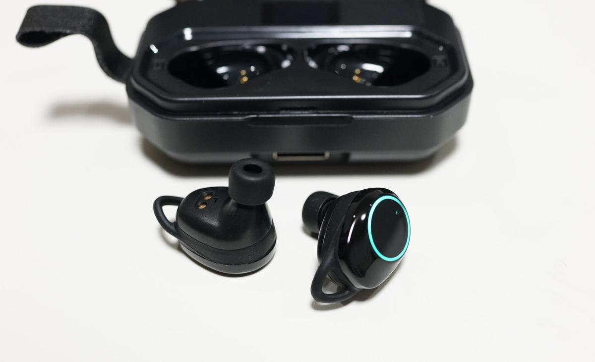 AmazonおすすめIPX7完全防水・AAC対応・Bluetooth5.0+EDR搭載 左右完全独立型イヤホンKeallce X6proレビュー