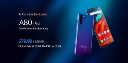 【セール価格$79.99】Blackview A80 Pro スペックレビュー カメラ・CPU評価・割引クーポンなどまとめ