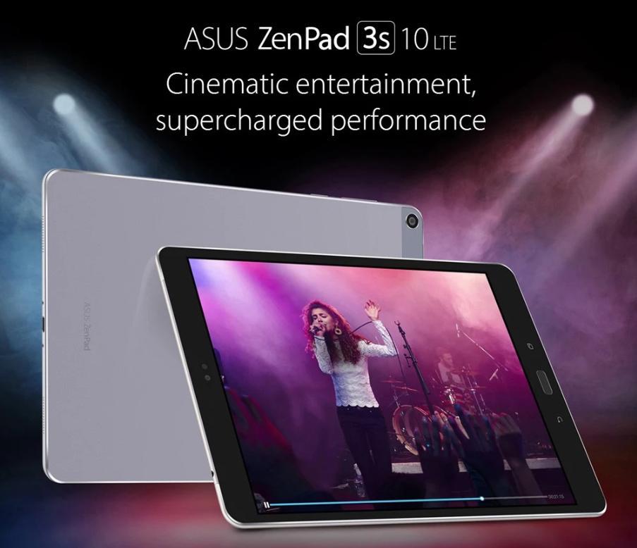 ASUS ZenPad 3S 10 LTE スペックレビュー B19対応の9.7インチタブレット