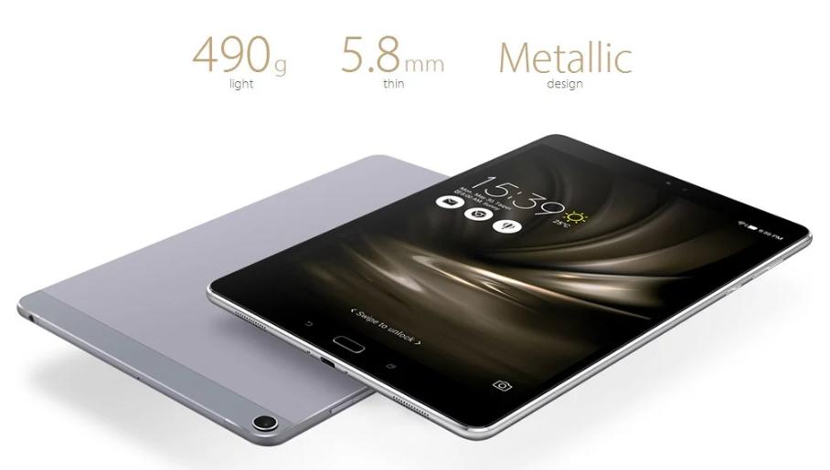 ASUS ZenPad 3S 10 LTE スペックレビュー 薄さ5.8mm、重量490gでモバイル性抜群