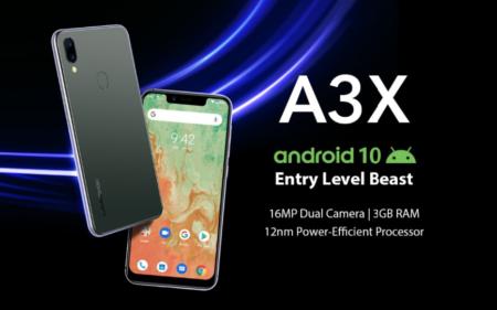 【セール予告】Android10搭載フルバンド対応のUMIDIGI A3Xが$69.99に!【12/8~12/13迄】