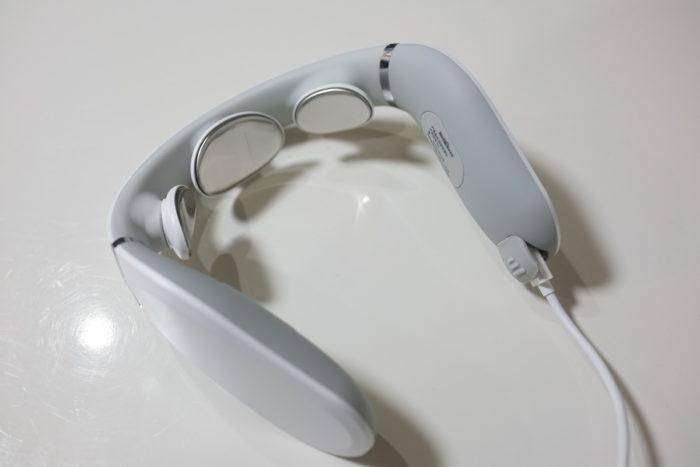 Xiaomi JEEBACK G2 Neck Massager レビュー 充電方法の説明参考画像
