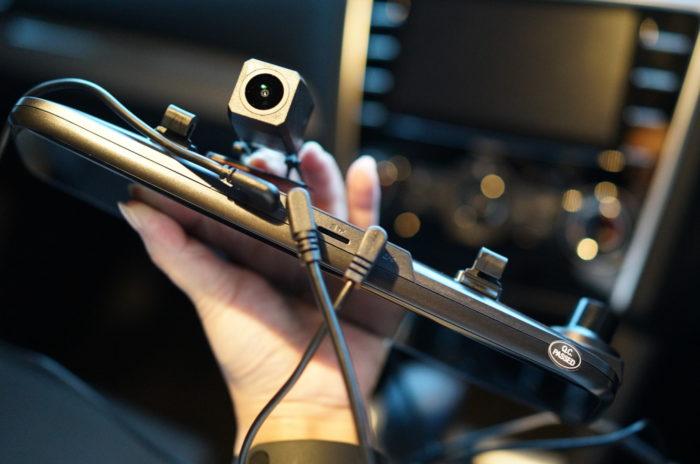 前後カメラ対応ミラー型ドラレコ レビュー