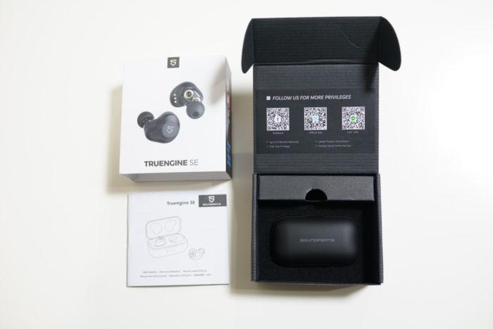 SOUNDPEATS TruengineSE レビュー パッケージ内容