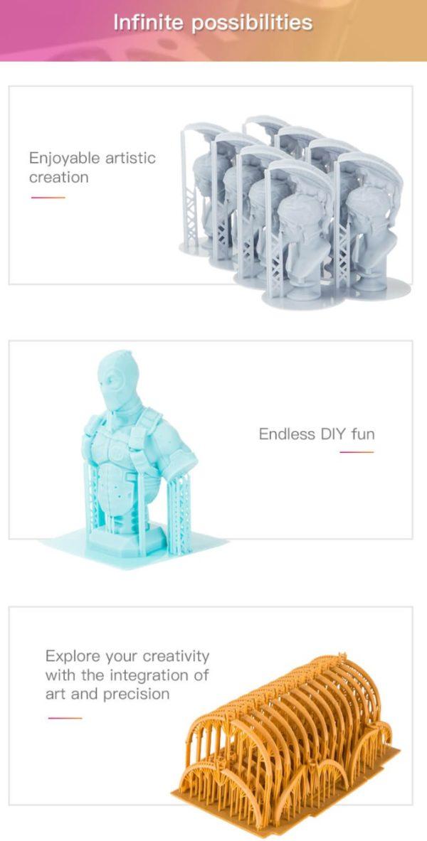 Creality 3D社が新型樹脂3Dプリンター「LD-002R」を発表