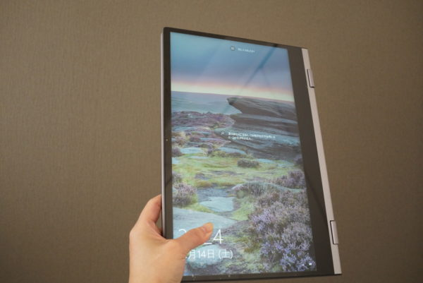 BMAX Y13 実機レビュー 13インチでタブレットスタイルで使えるノートPC参考画像