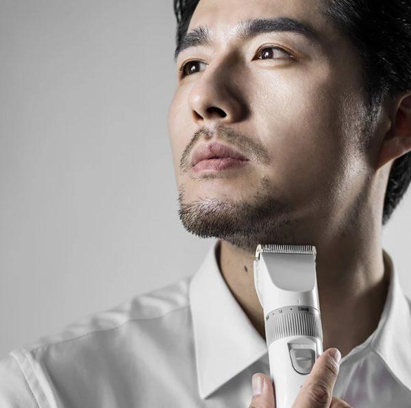 Xiaomi ENCHEN Sharp Hair Trimmer With Scissors Haircut Cloth