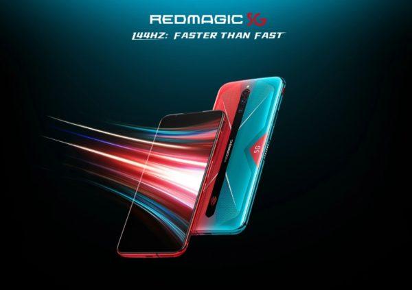 【セール価格$679.99】RedMagic 5G グローバルモデル登場!リフレッシュレート144Hz、Snapdragon865搭載でゲーミング対応!