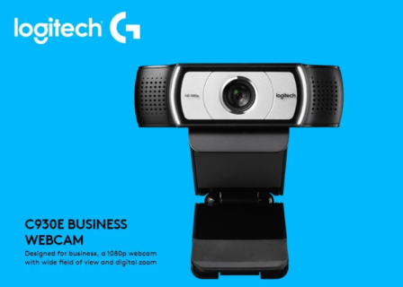 Skype for BusinessのH.264ビデオ圧縮対応のウェブカメラLogitech C930e C930Cが14,286円($129.99)でセール中!