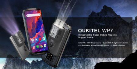 【クーポンで$299.99】世界初・赤外線ナイトビジョンカメラを内蔵したタフネススマホ『OUKITEL WP7』が発売!