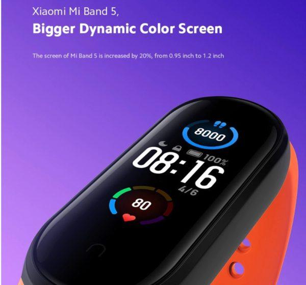 Xiaomi Mi Smart Band 5 中国版が$39.99でセール中!