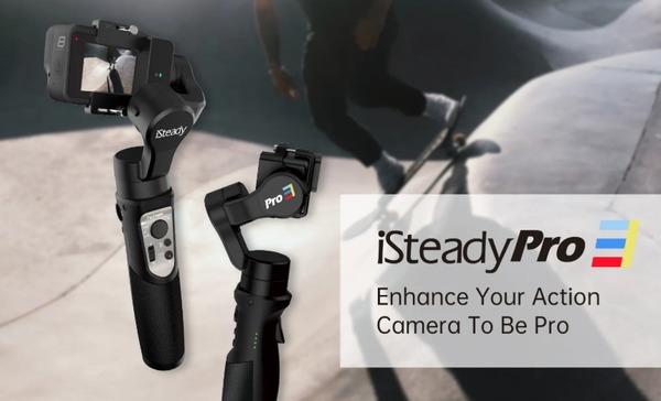hohem iSteady Pro 3 アクションカメラ用ジンバルスタビライザー