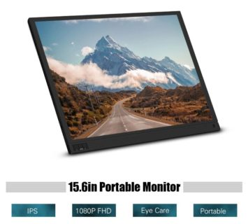 14311円で買える格安のFHD対応15.6インチIPSポータブルディスプレイ