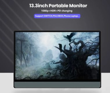 T-bao T13A PD充電対応・FHD+HDRの13.3インチのモニターが15,631円でセール中
