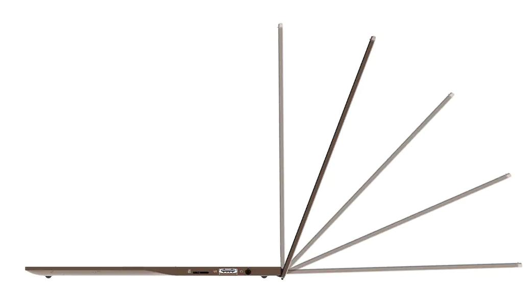 Jumper EZbook X3 Airのスペック詳細レビュー 180度倒れるフレキシブルなディスプレイ