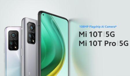 最安価格は$509.00!Xiaomi Mi 10T と Mi 10T Pro のスペック比較と割引クーポンまとめ