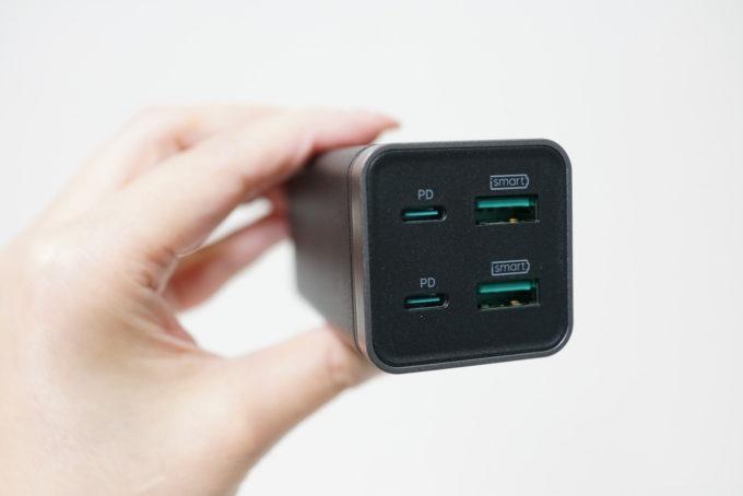 iPhone/iPad/MacBook/Androidで使える65W高出力PD充電器 RAVPower レビュー