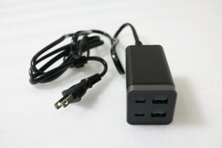 iPhone/iPad/MacBook/Android対応!65W高出力可能なPD充電器 RAVPower レビュー