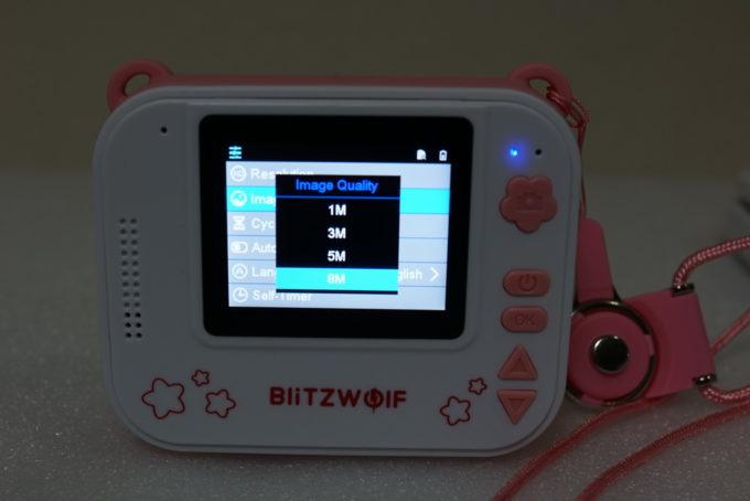 撮った写真をその場でプリントできる子供用カメラBlitzWolf® BW-DP1 レビュー
