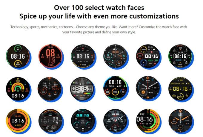 血中酸素濃度計測付きのXiaomi Mi Watchの機能の紹介