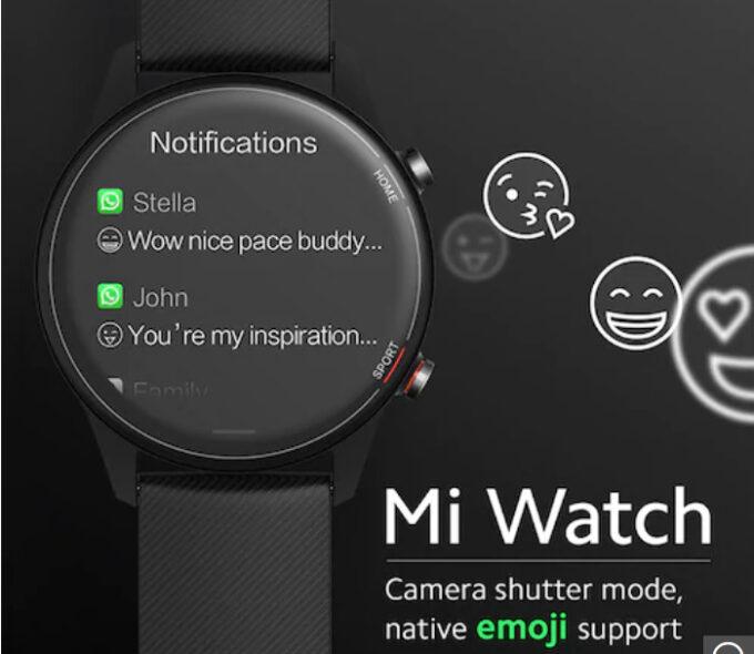 Xiaomi Mi Watchの通知機能と日本語への対応について