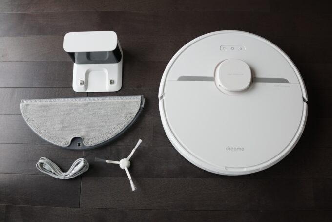 Dreame D9 ロボット掃除機の外観レビュー