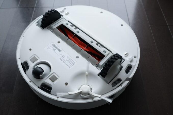 Dreame D9 ロボット掃除機の外観レビュー 裏側の説明