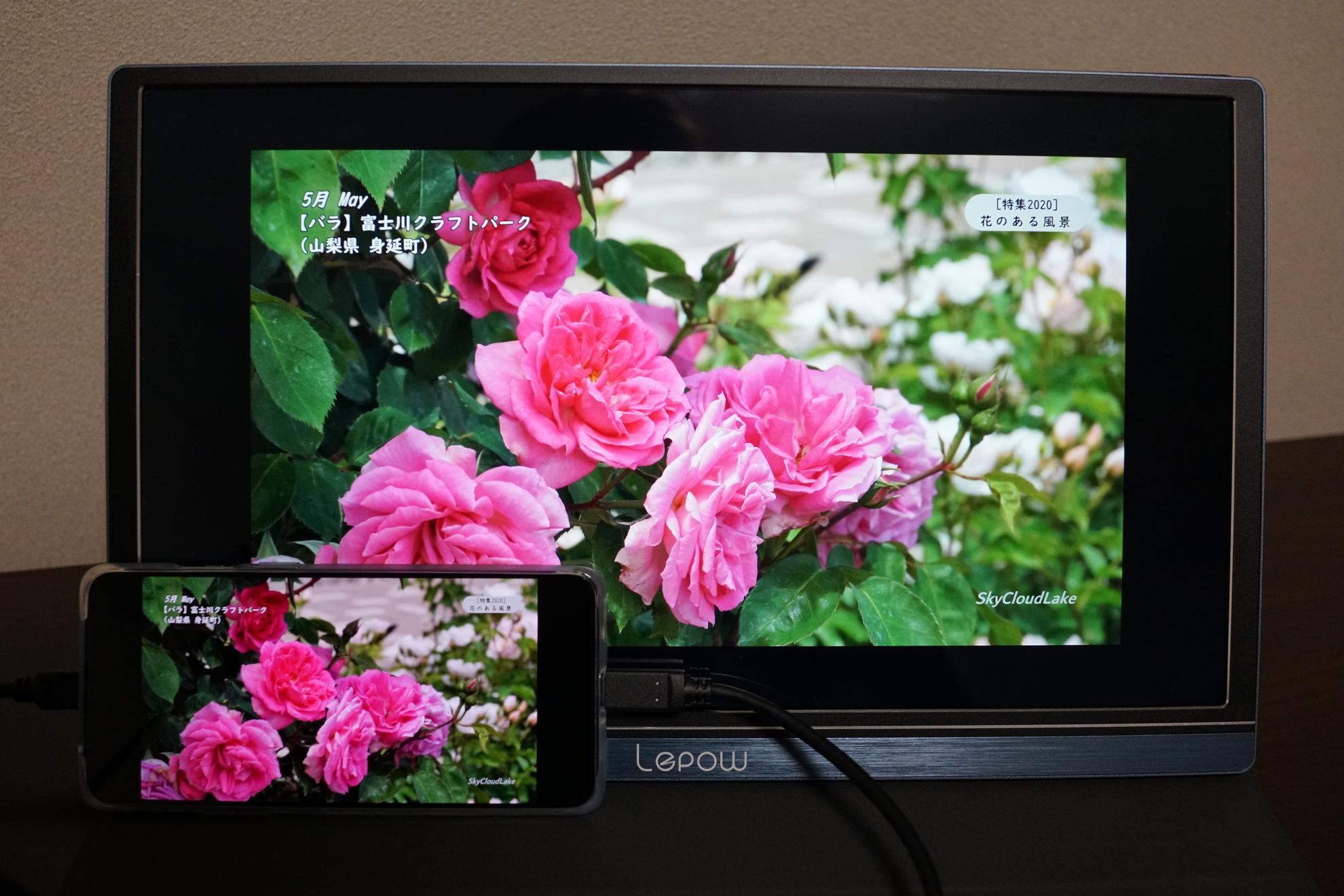 2020 LepowZ1高色域15.6インチFHDポータブルモニターの特徴