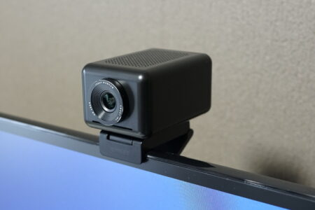 【クーポンで14,399円】AI Webcam Jupiter レビュー AI搭載で人を認識しオートフォーカスでズームする凄いウェブカメラ!