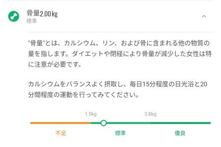 Xiaomi Mi Smart Scale 2 の体組成計で計測できる内容