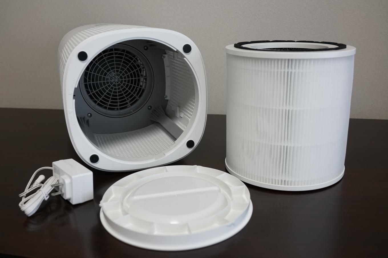 TaoTronics 空気清浄機 TT-AP005 レビュー 中身の説明