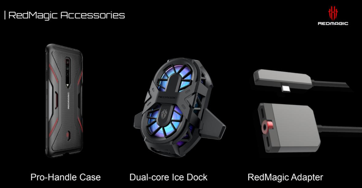RedMagic 6の別売りアクセサリーについて