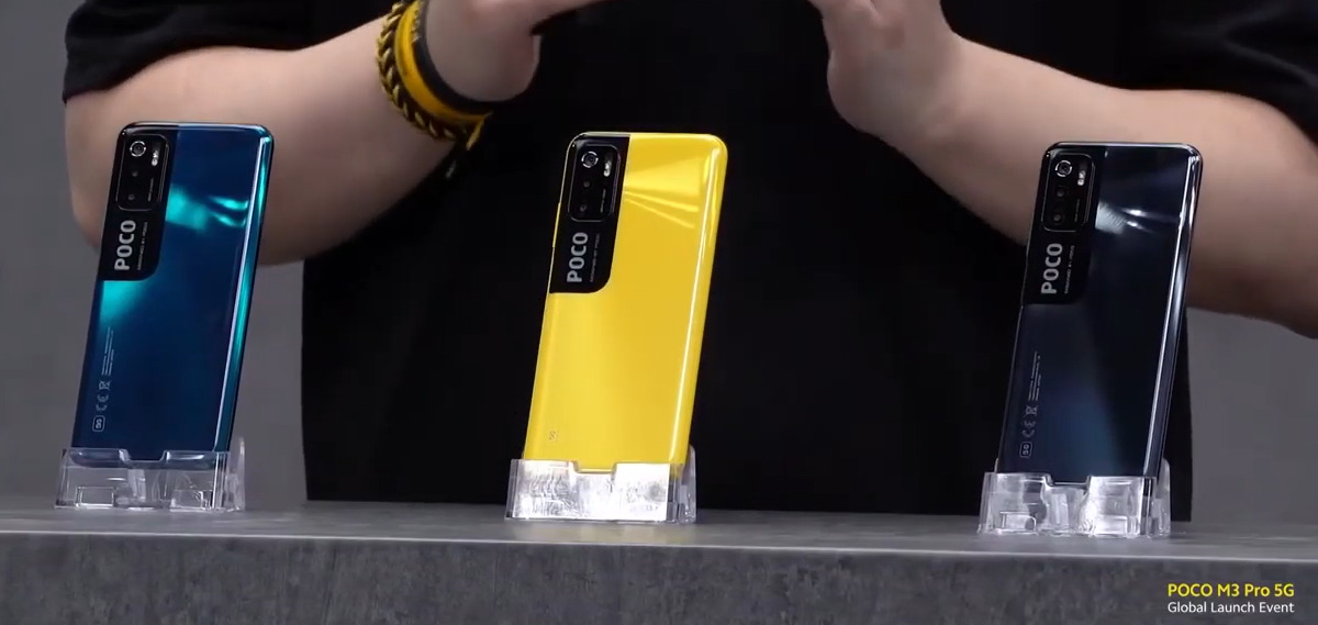 POCO M3 Proは背面3Dカーブと光沢ボディーで高級感のあるデザイン