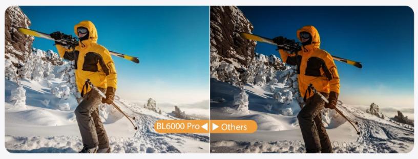Blackview BL6000 Pro HDR撮影比較