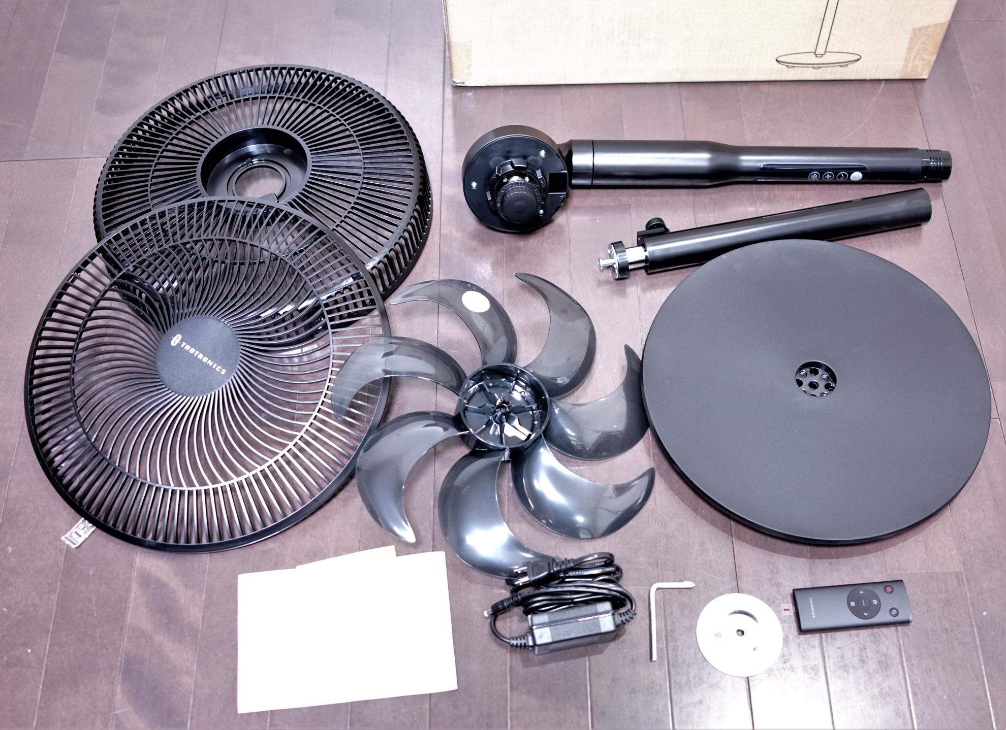 DCモーター扇風機 TaoTronics TT-TF009 レビュー