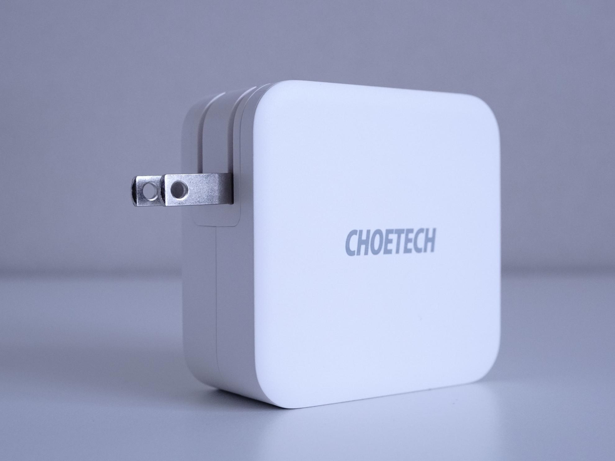 100W対応 CHOETECH PD6008 Type C 急速充電器 レビュー