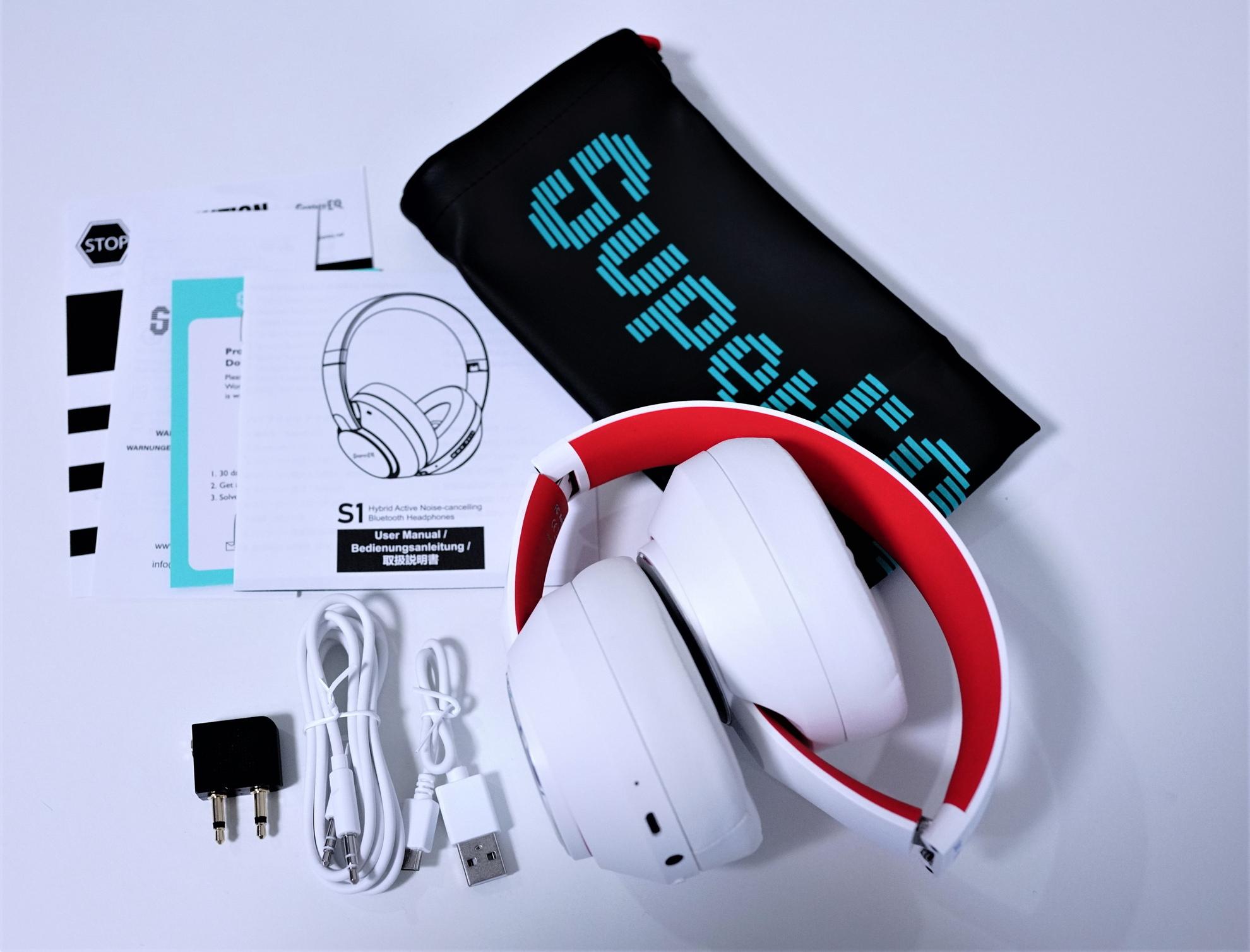 SuperEQ S1 Bluetoothヘッドフォンレビュー パッケージ内容