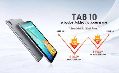 【セール価格139.99ドル】Blackview Tab10 タブレット登場 10.1インチAndroid11搭載!
