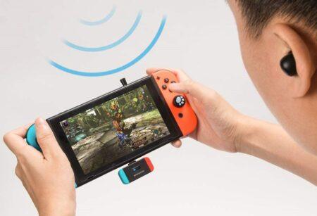 Nintento Switch に接続するだけでBluetoothイヤホンが使えるトランスミッターMUSON MK3 レビュー